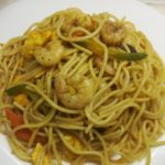 Easy Spaghetti Recipe With Shrimp |Benazer's kitchen