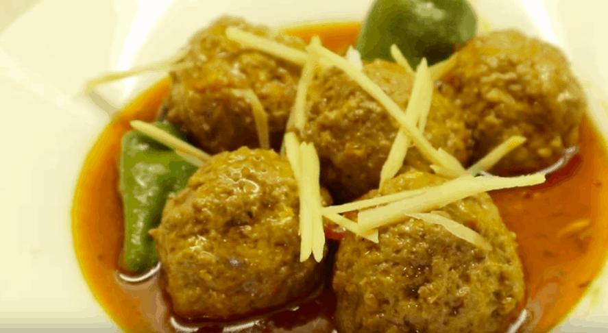 Kofta Salan Recipe Pakistani / Meatballs Curry Recipe