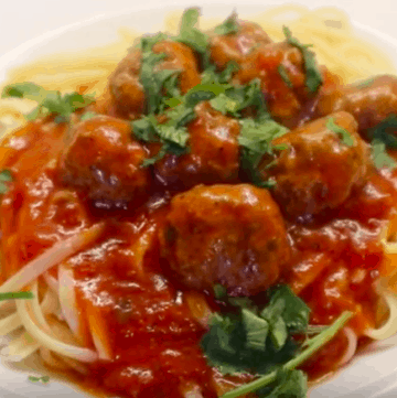 Spaghetti And Meatballs Recipe Italian