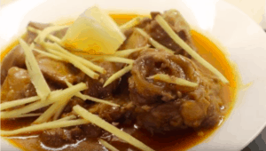 Lamb Shank Nihari Recipe