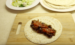 Spicy Beef And Bean Burrito Recipe