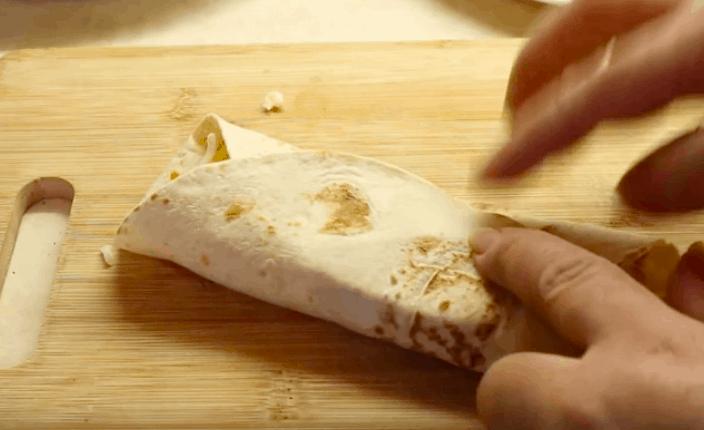 Spicy Beef And Bean Burrito Recipe