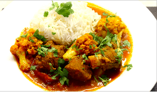 Lamb Curry With Vegetables